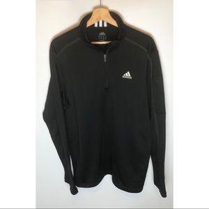 Men's Adidas 3/4 Zip Fleece Size Large